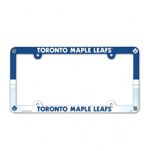 Toronto Maple Leafs Full Color License Plate Frame