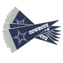 Load image into Gallery viewer, Dallas Cowboys Mini Pennants