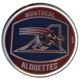 Montreal Alouettes Tossing Coin