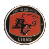 BC Lions Tossing Coin