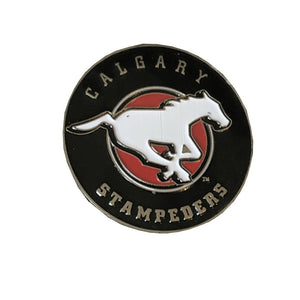 Calgary Stampeders Tossing Coin