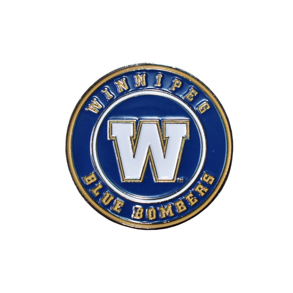 Winnipeg Blue Bombers Tossing Coin