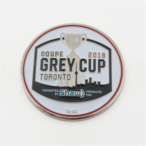 Grey Cup 2016 Challenge Coin
