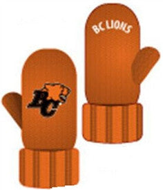 BC Lions Mittens