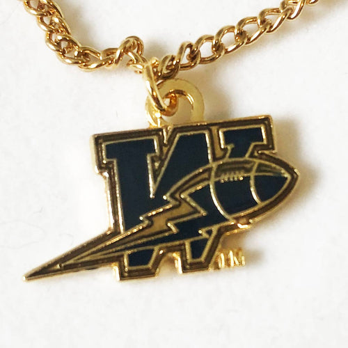Winnipeg Blue Bombers Logo Necklace