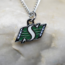 Load image into Gallery viewer, Saskatchewan Roughriders Necklace