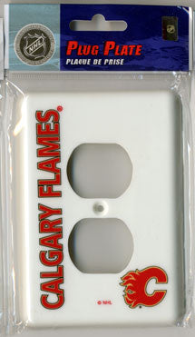 Calgary Flames Outlet Cover