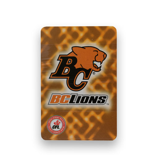 BC Lions CFL Playing Cards