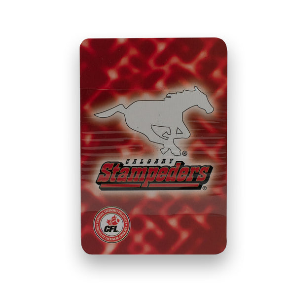 Calgary Stampeders CFL Playing Cards