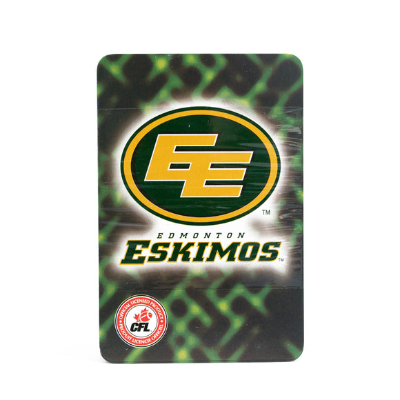 Edmonton Eskimos CFL Playing Cards