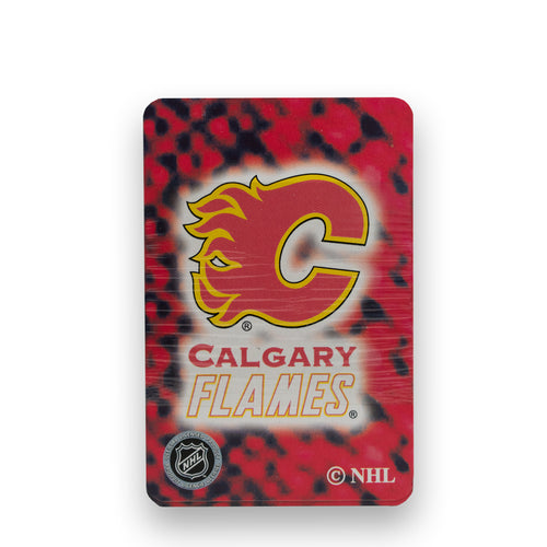 Calgary Flames NHL Playing Cards