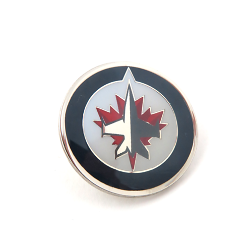 Winnipeg Jets NHL Logo Pin