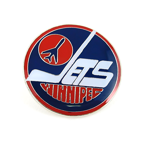 Winnipeg Jets NHL Vintage Logo Pin