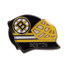 Load image into Gallery viewer, Bruins Goalie Mask lapel pin