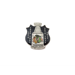 Chicago Blackhawks Stanley Cup Pin