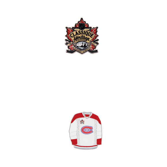 Montreal Canadiens 2011 Heritage Classic 2 Pin Set