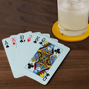 Playing Cards with Drink