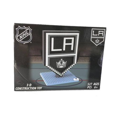 Los Angeles Kings Logo NHL Team 3D Construction Toy