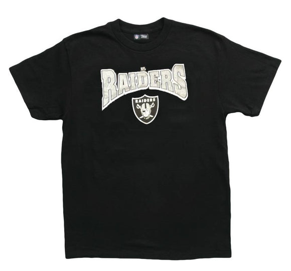 Oakland Raiders Adult Black T-shirt