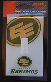 Edmonton Eskimos Switch Plate Decal