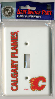Calgary Flames Switch Plate Cover