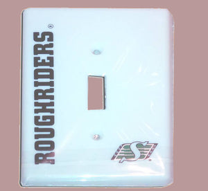 Saskatchewan Roughriders Switch Plate Cover