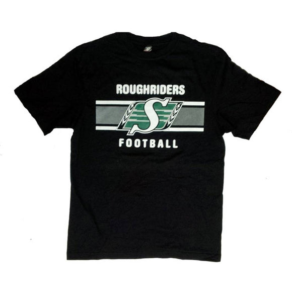 Saskatchewan RoughRiders Black T-shirt