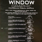 Window Graphic Instructions