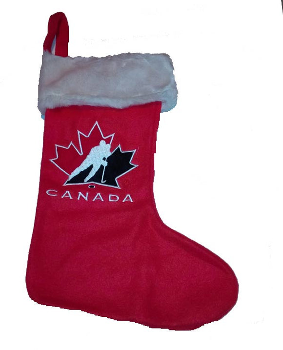 Team Canada Christmas Stocking Design#1