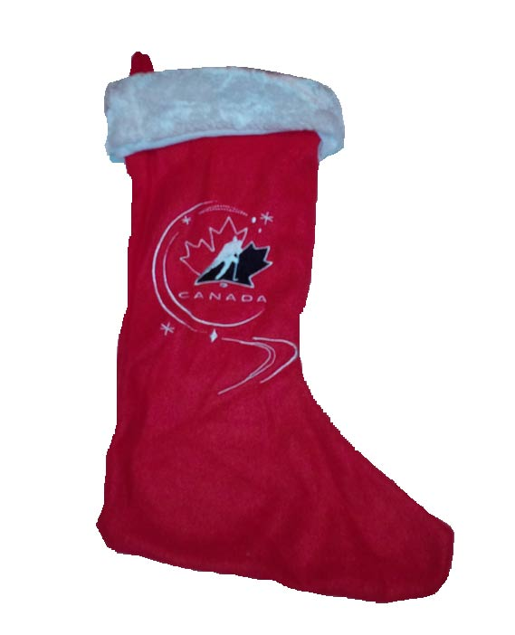 Team Canada Christmas Stocking Design#2