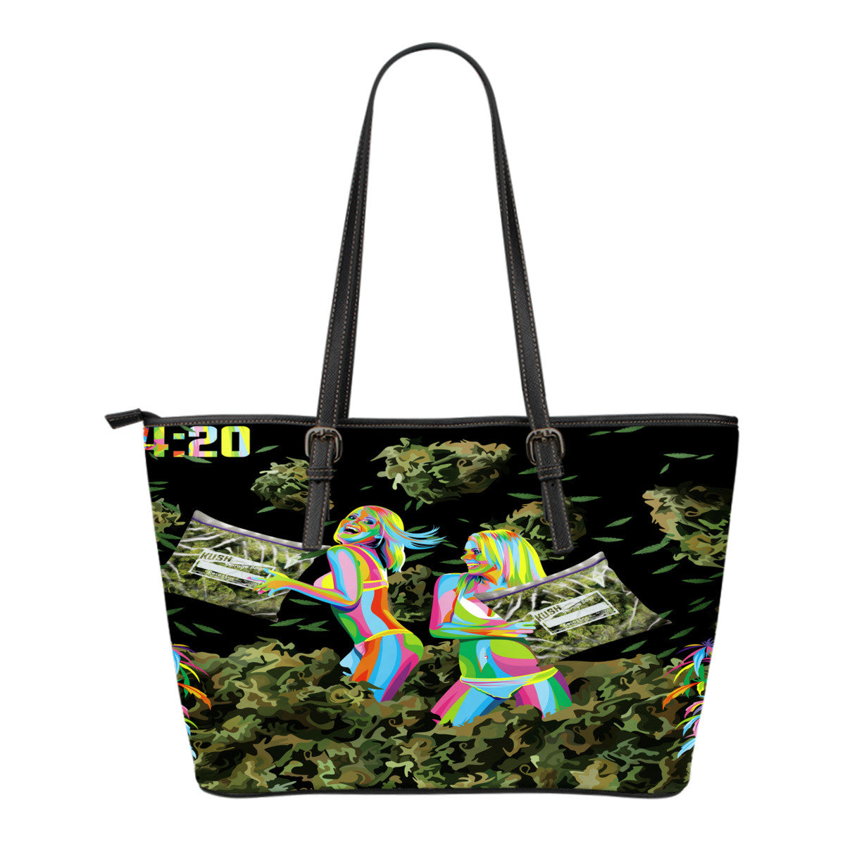 Cannabis Leather Totes