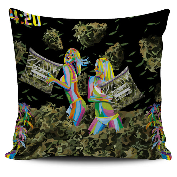 Weed Pillow Cover Giveaway