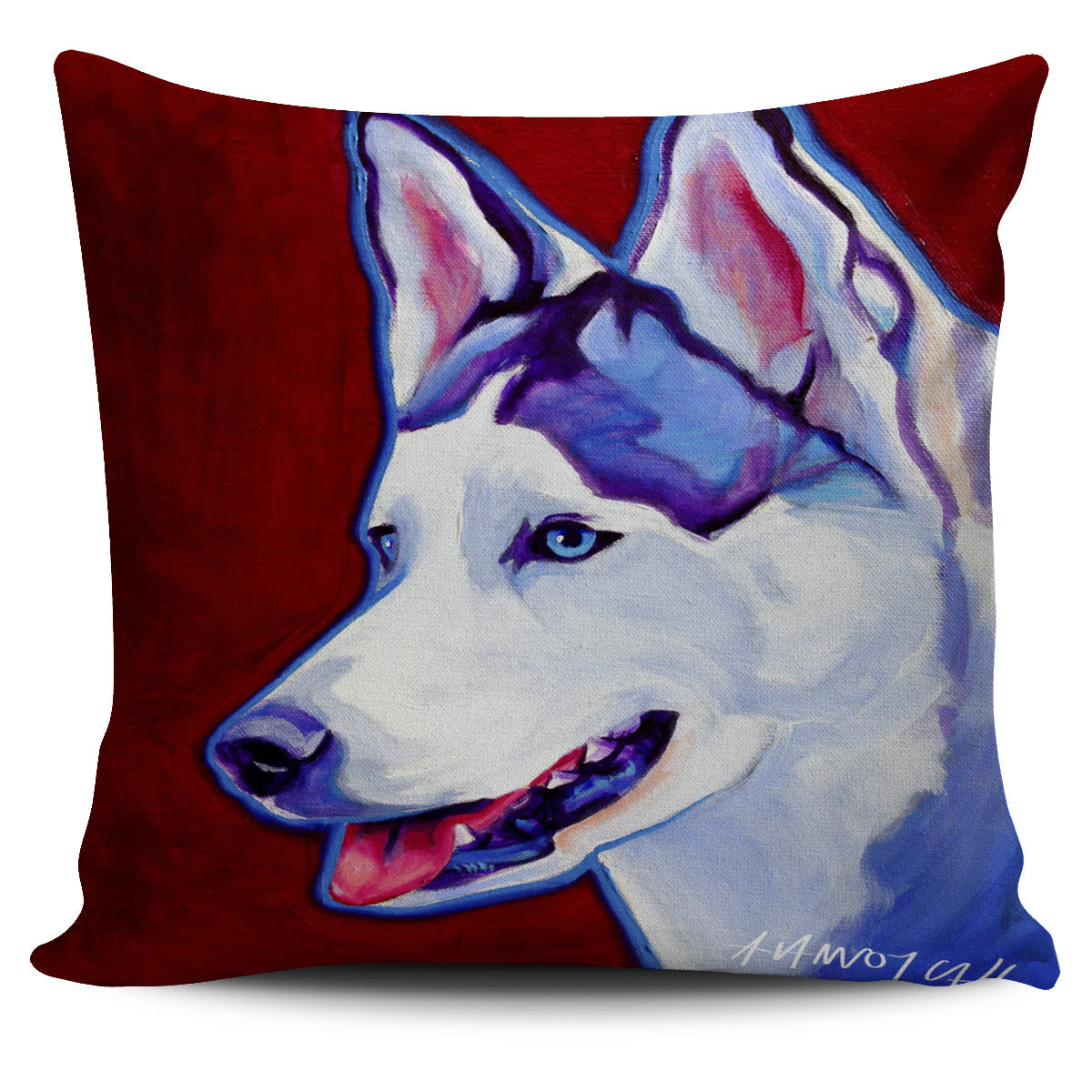 Husky Pillow Cover