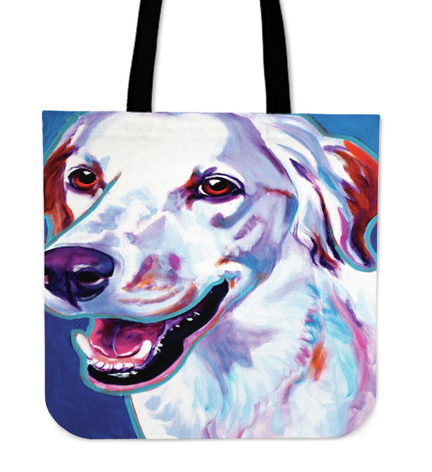 Lab Retriver Tote Bag