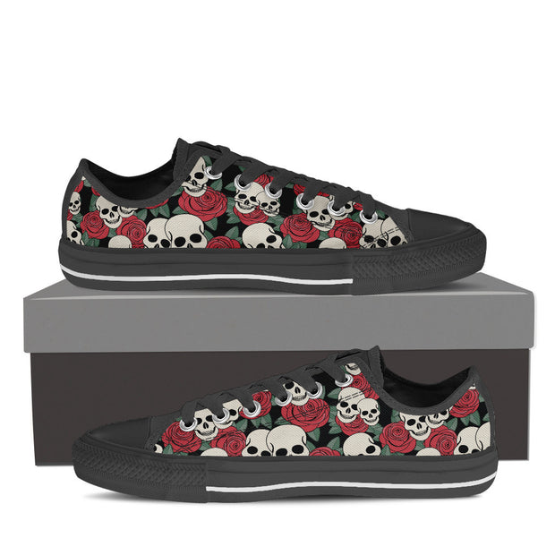 Low Top Skull Shoes