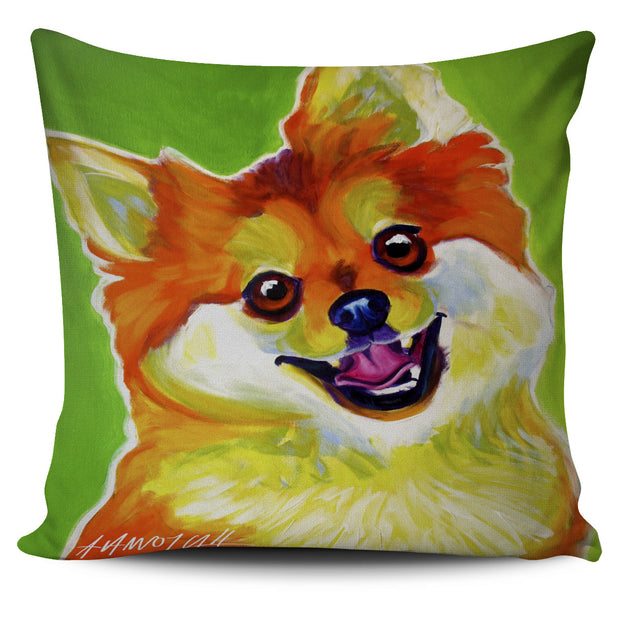 Pomeranian Pillow Cover