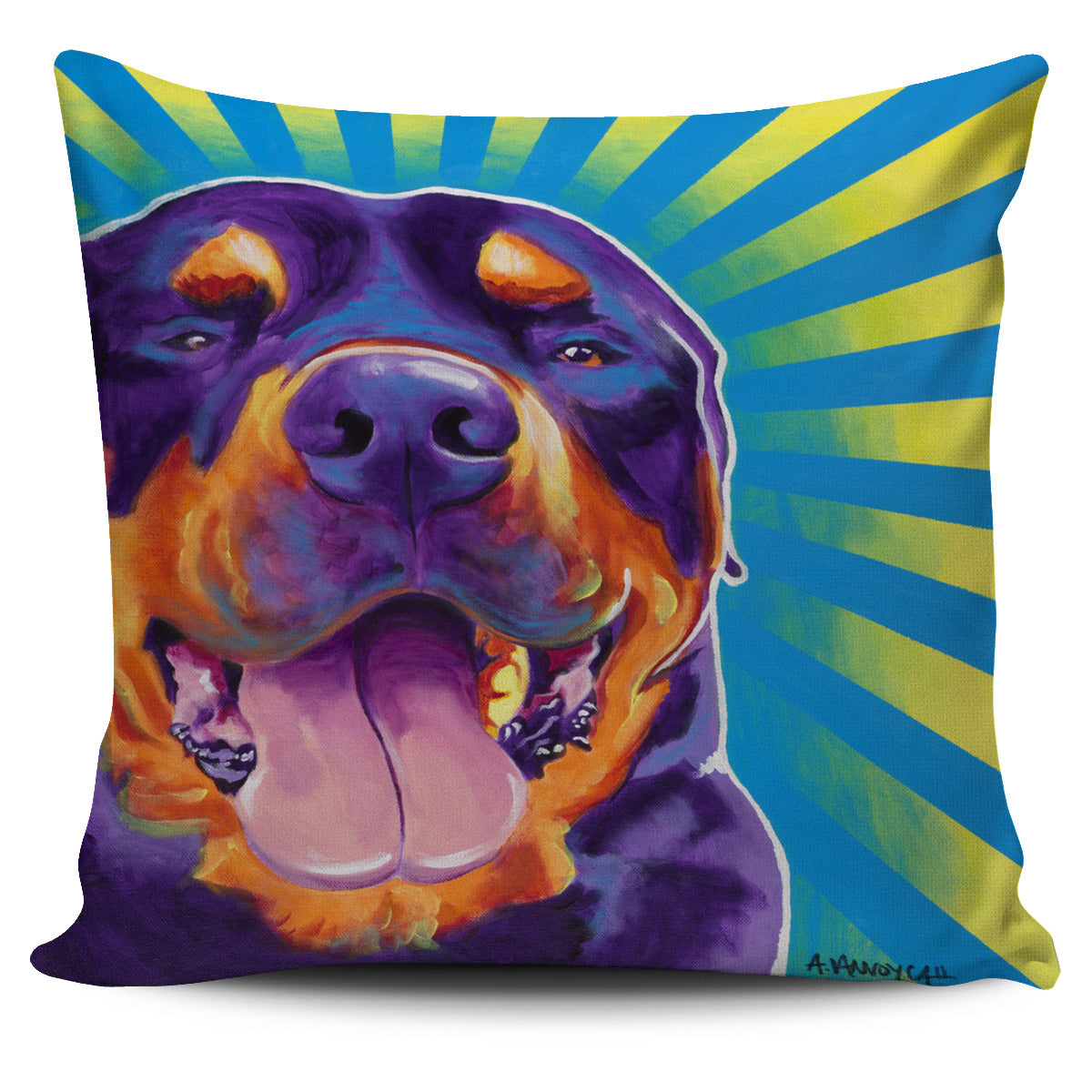 Duncan Dog Pillow Cover