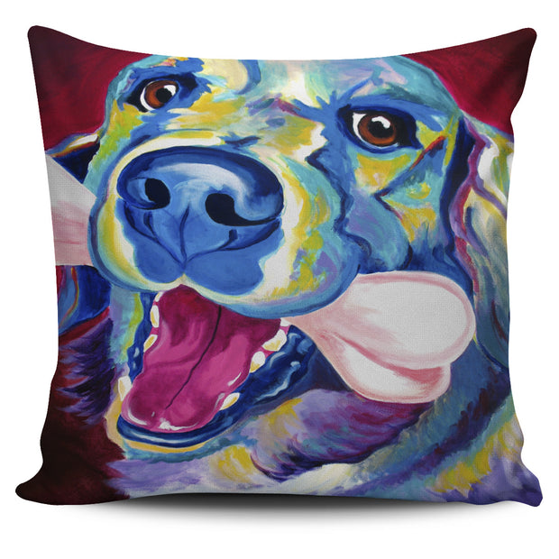 Golden Retriever Pillow Cover