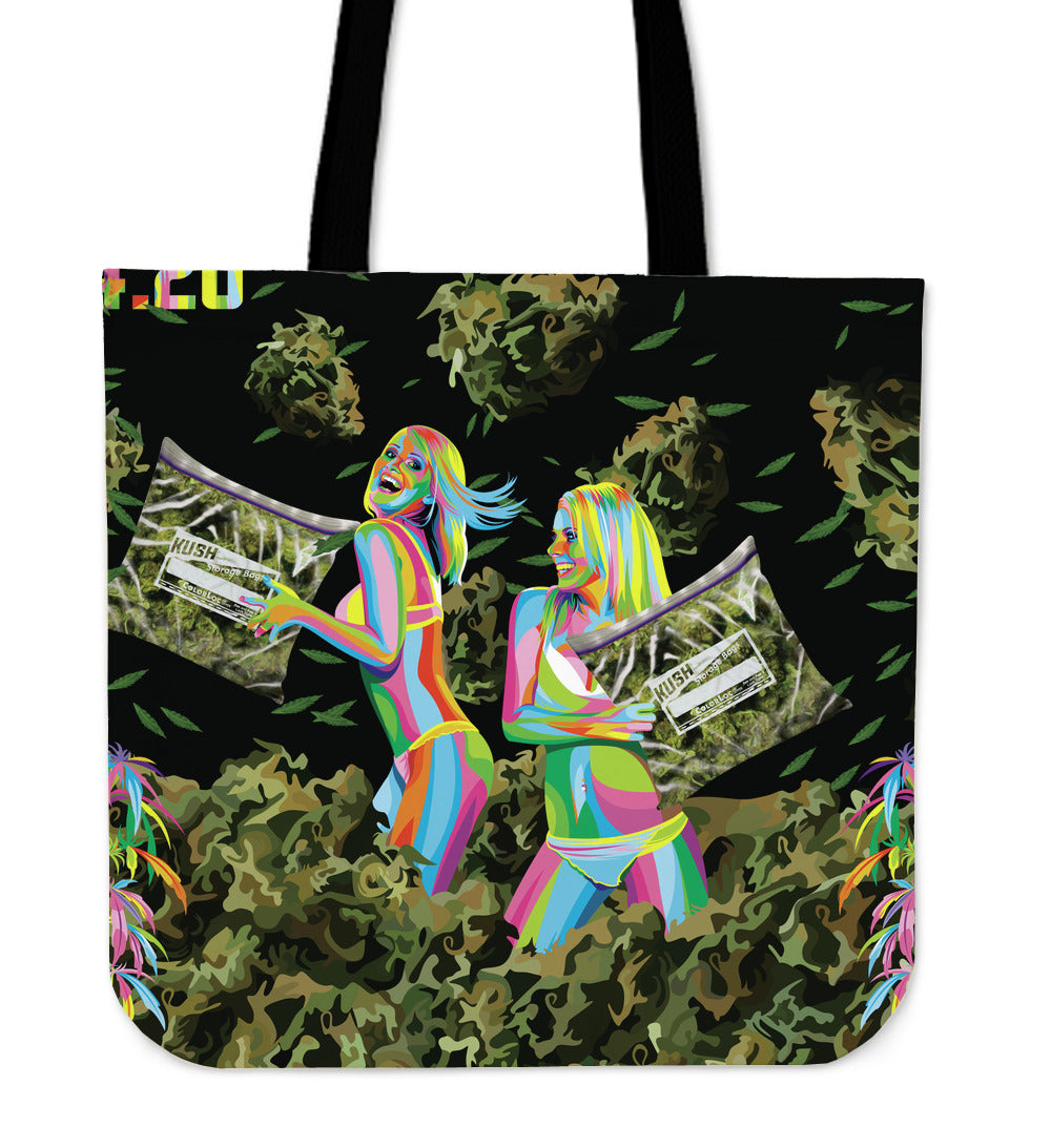 Weed Fight Pillow Cover