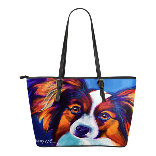 Papillon Leather Tote