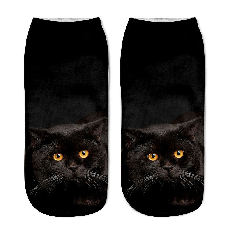 Cat Cotton Socks Giveaway