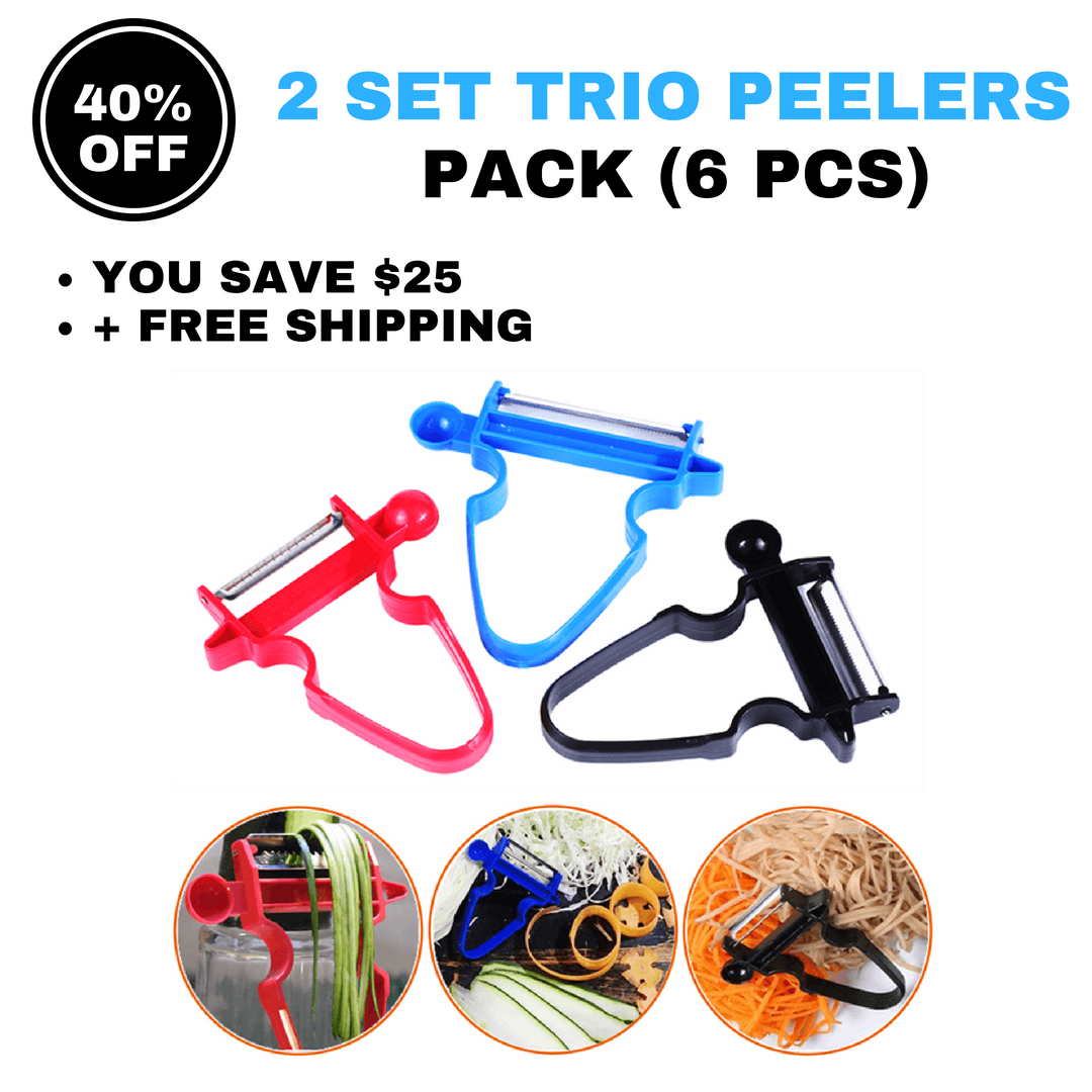 Magic Trio Peelers (Set of 3)