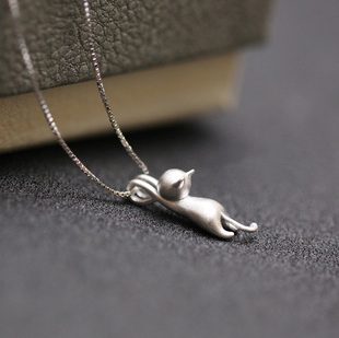 Hanging Cat Necklace Giveaway