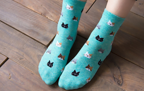 Cat Loving Socks Giveaway