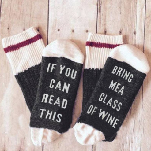 Wine Fun Socks Giveaway
