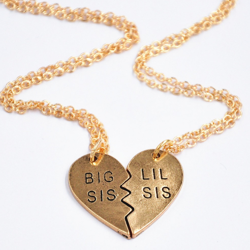 Big Sis Lil Sis Necklace Giveaway
