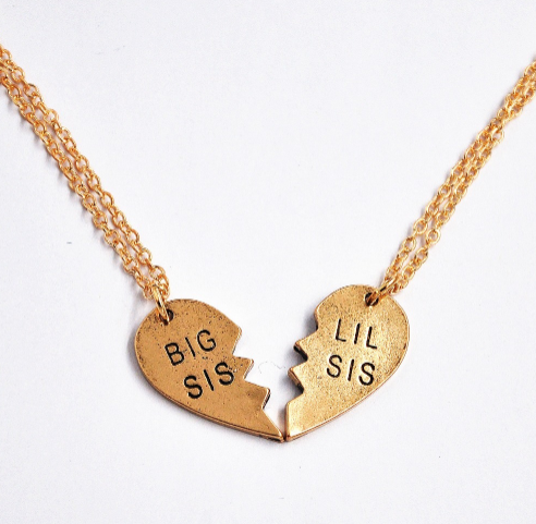 Big Sis Lil Sis Necklace