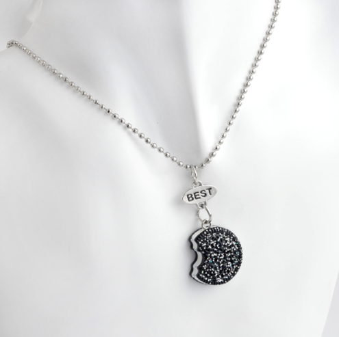 Oreo & Coffee Best Friends Necklace