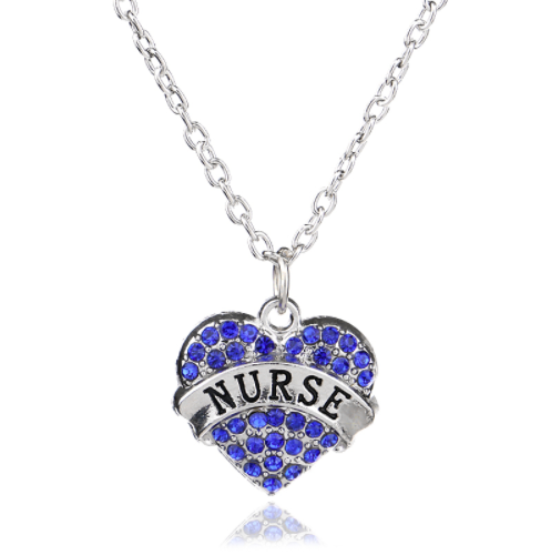 Nurse Heart Necklace Giveaway