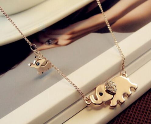 Elephant Family Necklace Giveaway